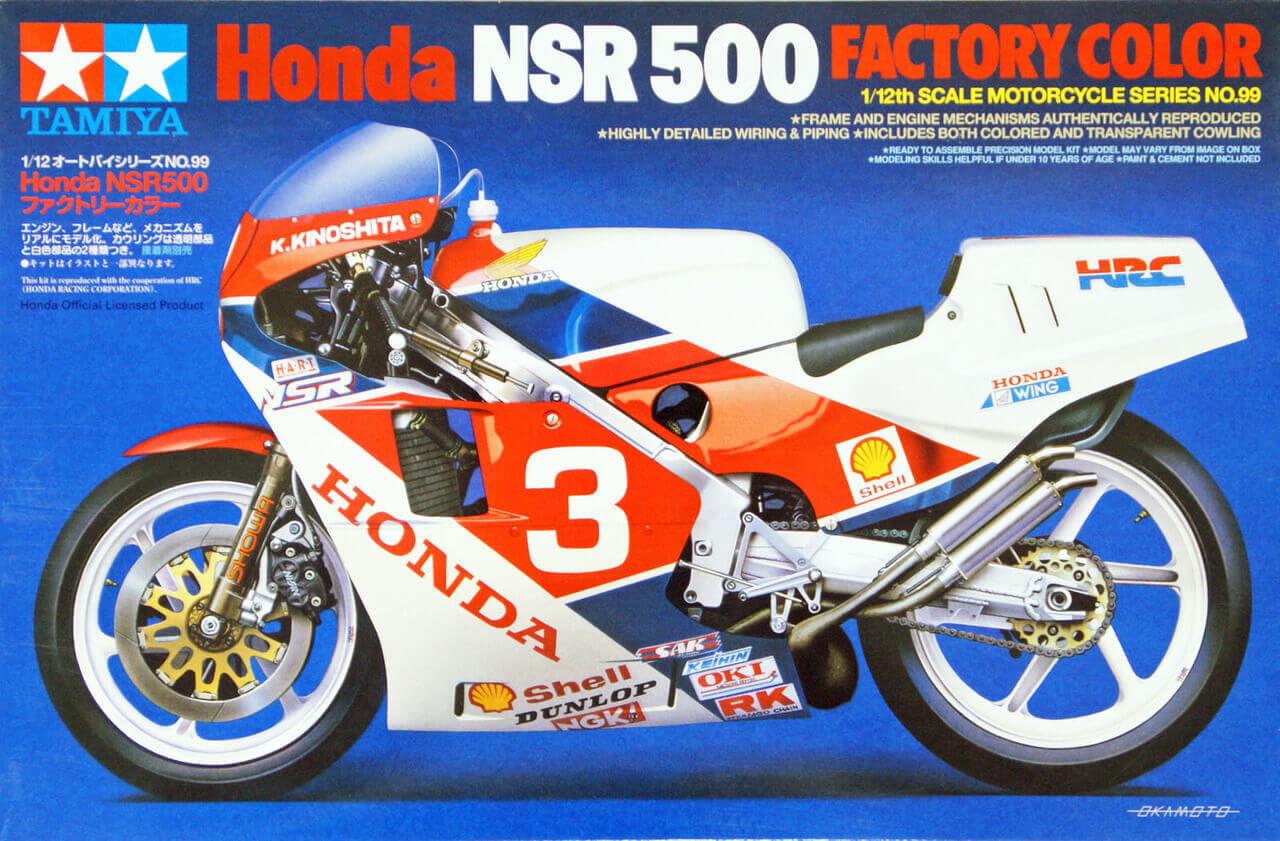 Hasegawa 1//12 HONDA NSR500 1989WGP500 champion Plastic BK4 F//S w//Tracking# Japan