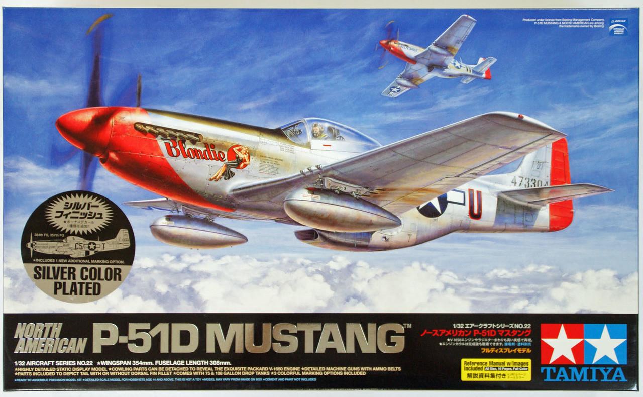 Tamiya 60749-1//72 North American P-51D Mustang Neu