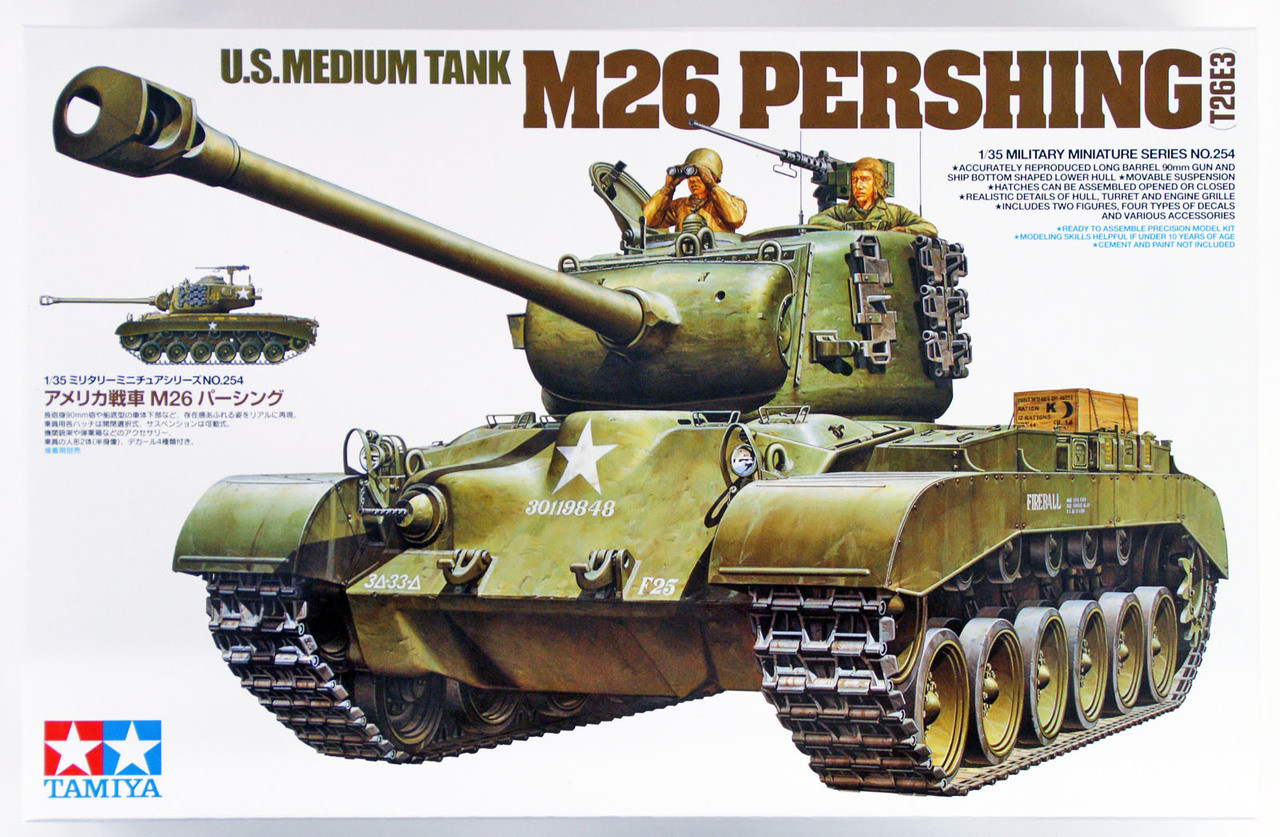 Neu Tamiya 35319-1//35 US Panzer T26E4 Super Pershing