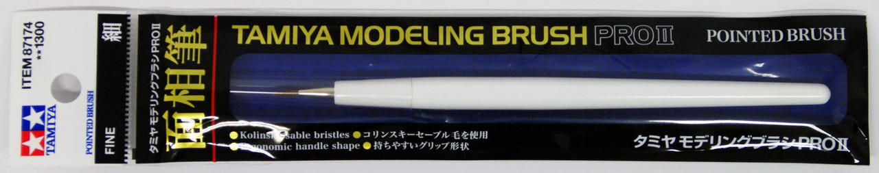 Modelling Brush Pro II Pointed Tamiya 87174 Fine