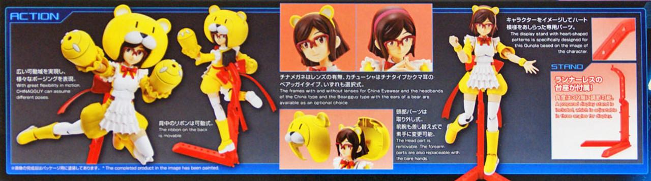 HG Gundam Build Fighters Chinagguy 1//144 model kit 056 Bandai
