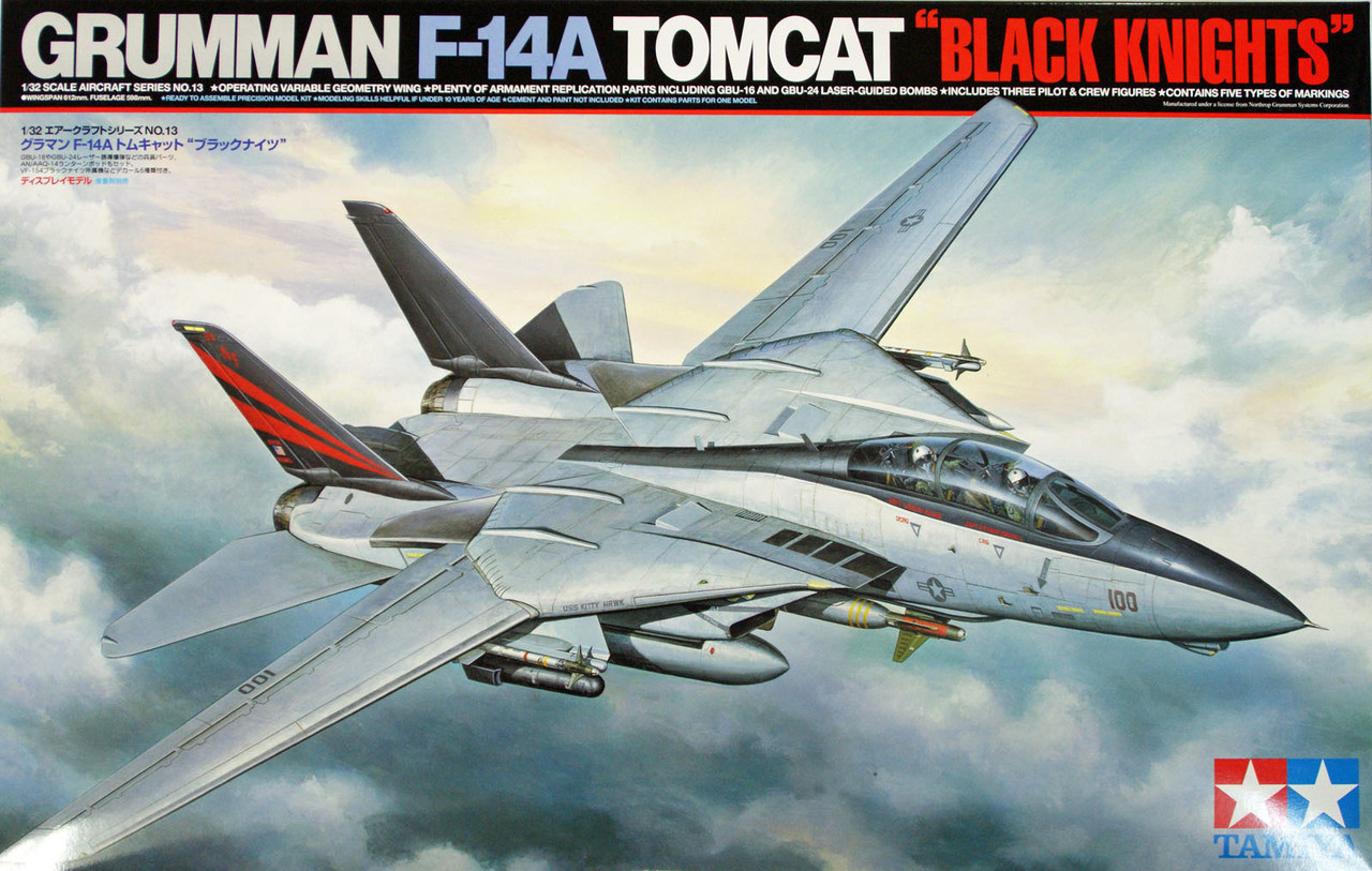 TAMIYA 61114 GRUMMAN F-14A TOMCAT 1//48 Scale Kit from Japan