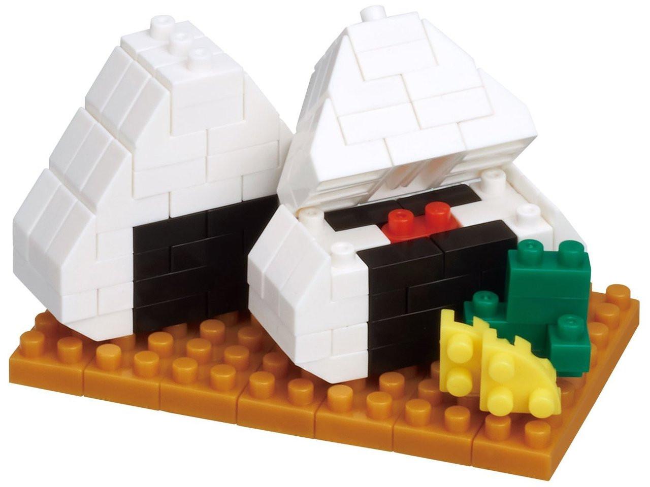 Nano-block Nano-block sushi NBC 220 Building Block Kit From Japan F//S