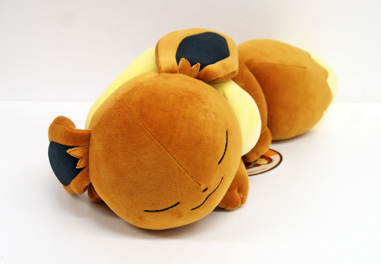 Pokemon Center Original Plush Doll Sleeping Eevee Japan