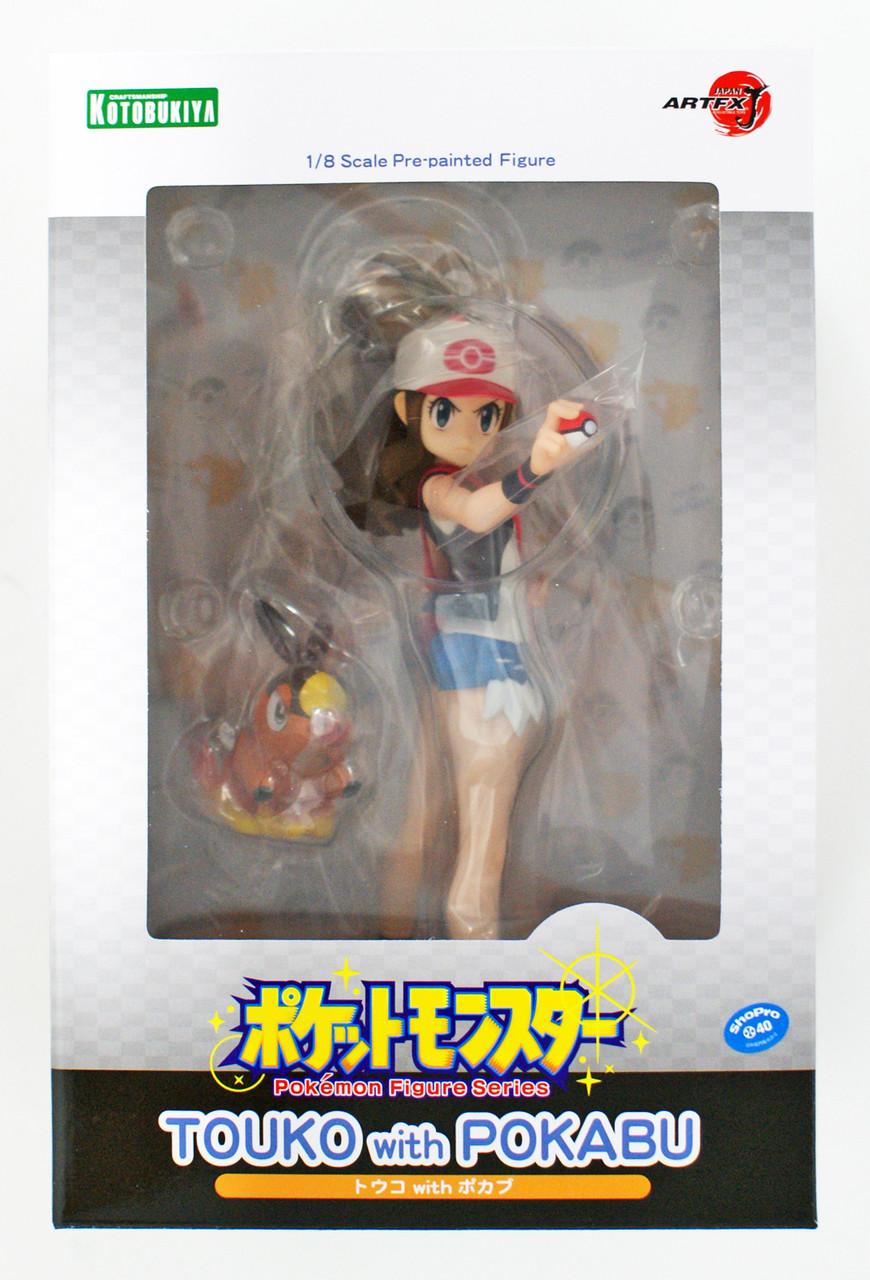 ARTFX J Hilda Touko with Tepig 1//8 Figure Pokemon KOTOBUKIYA