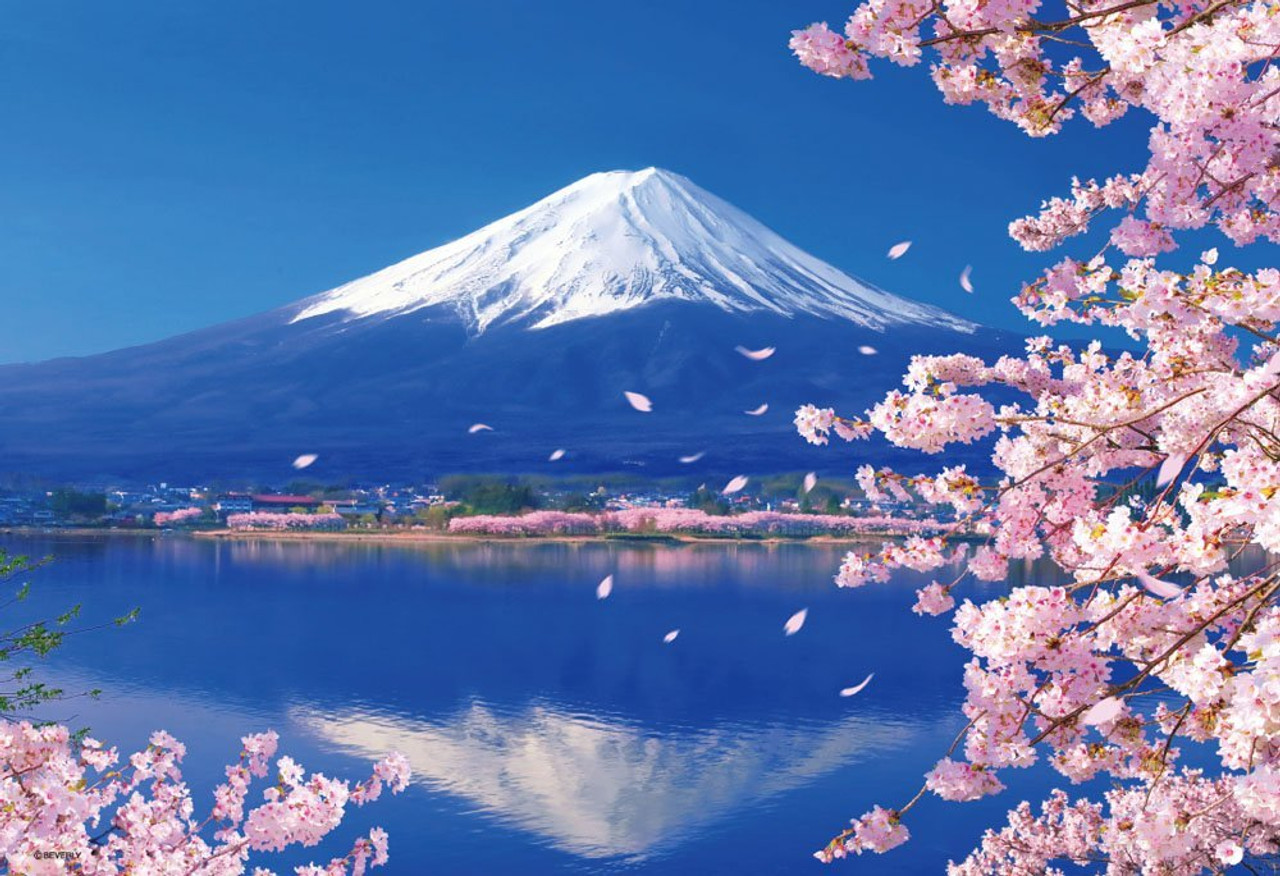 Beverly 40 pieces Crystal Puzzle Red Mt Fuji Aka Fuji 3D puzzle from Japan New