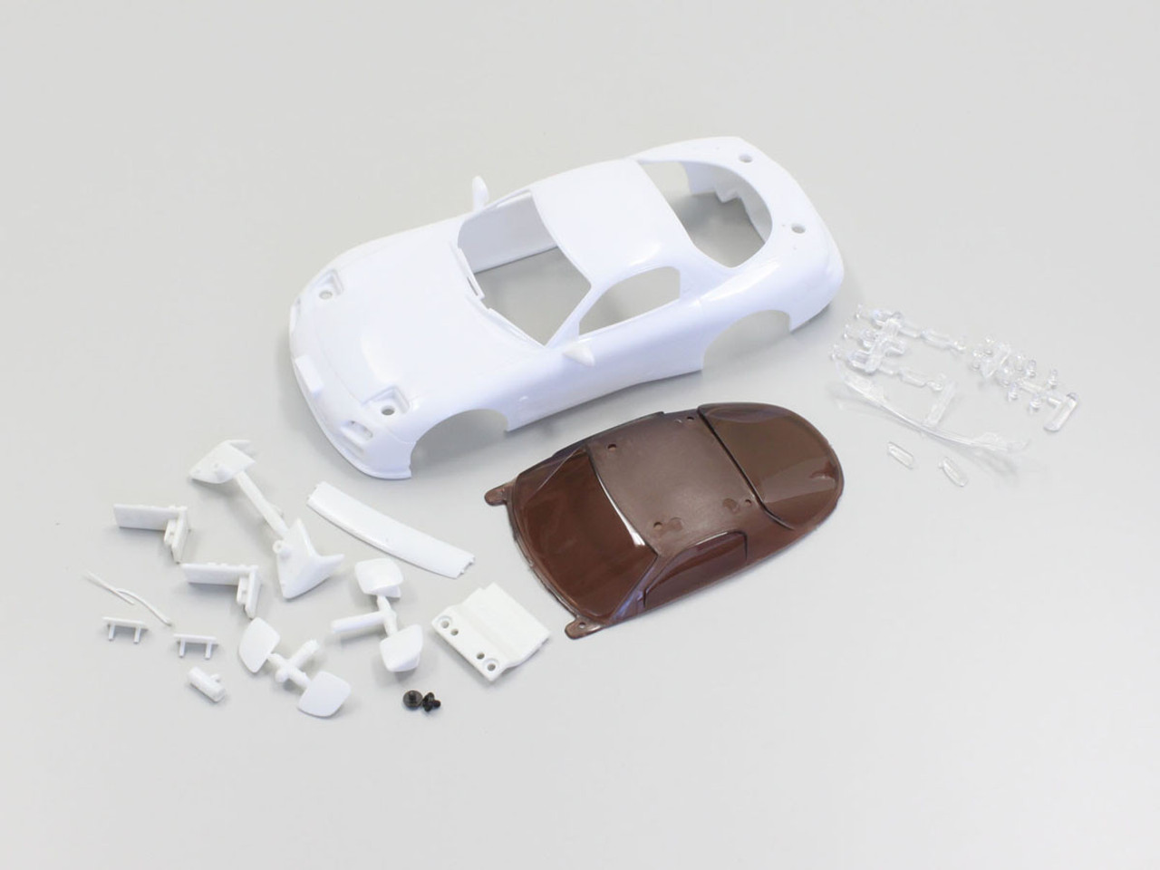 Kyosho Mini Z MZN177 MAZDA RX-7 FD3S White Body Set