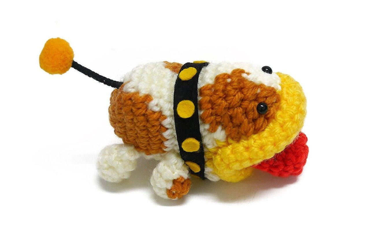 Hamanaka H306-166 Yoshi/'s Woolly World Poochy Big Amigurumi Kit Crochet Doll