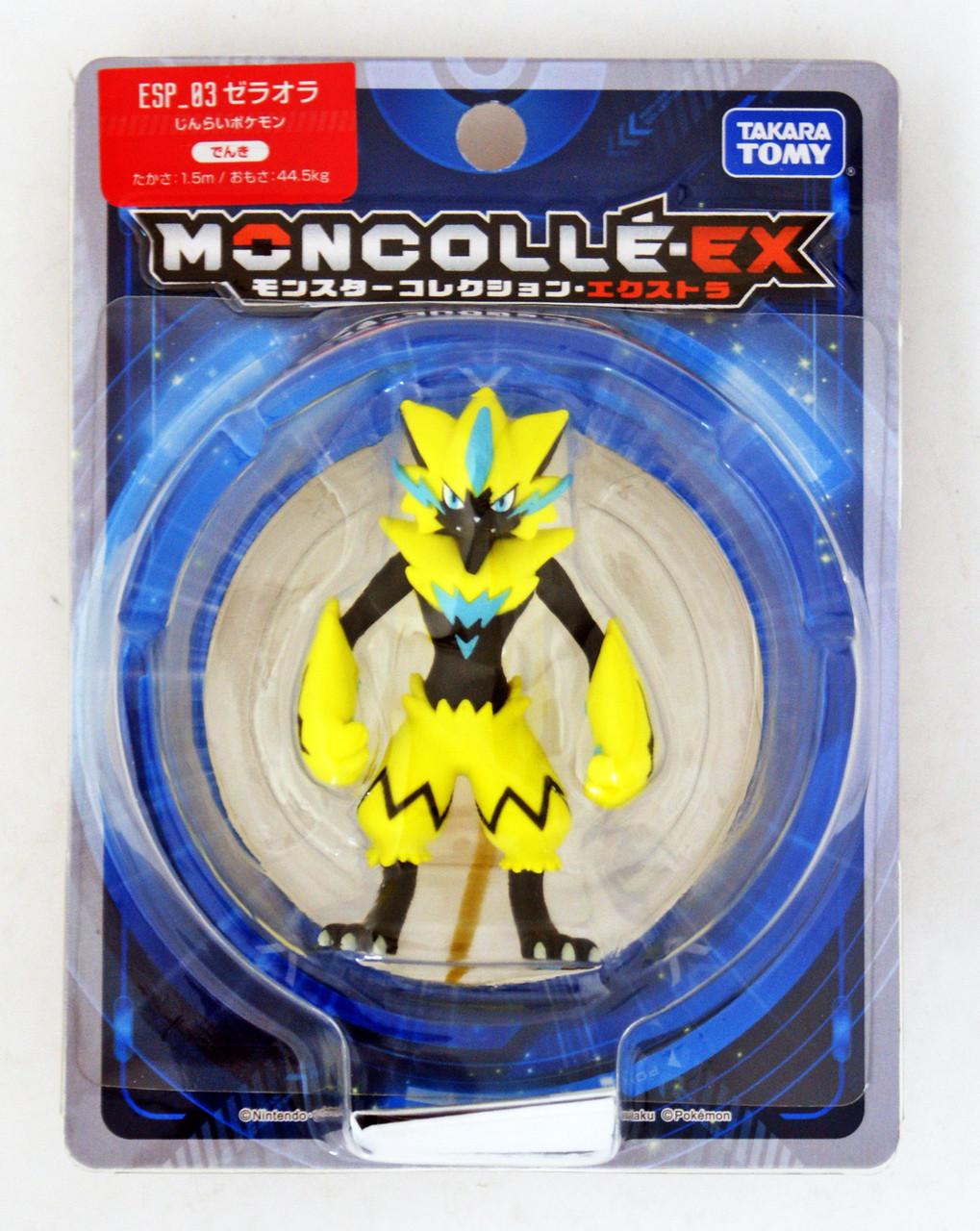 Pokemon Moncolle EX Figure EX ESP/_03 Zeraora TAKARA TOMY From JAPAN