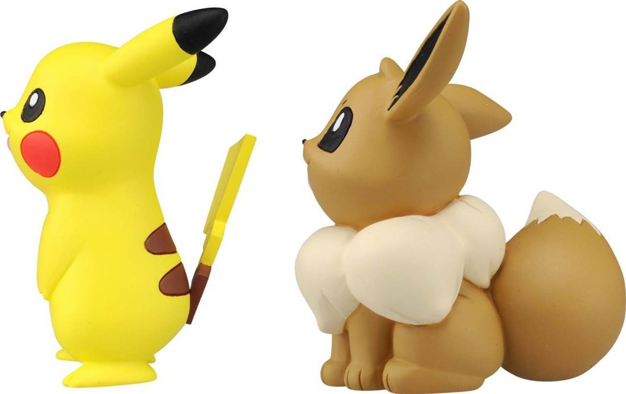 Takara Tomy Pokemon Moncolle cifra EX EX ESP/_10 Pikachu /& Eevee Giappone