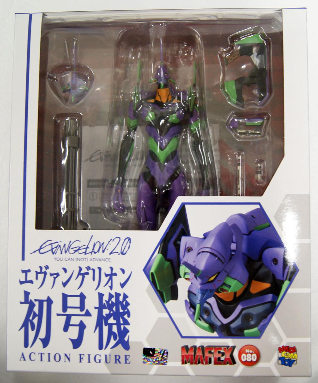 MAFEX No.080 Evangelion 2.0 EVA-01 Action Figures New in Box