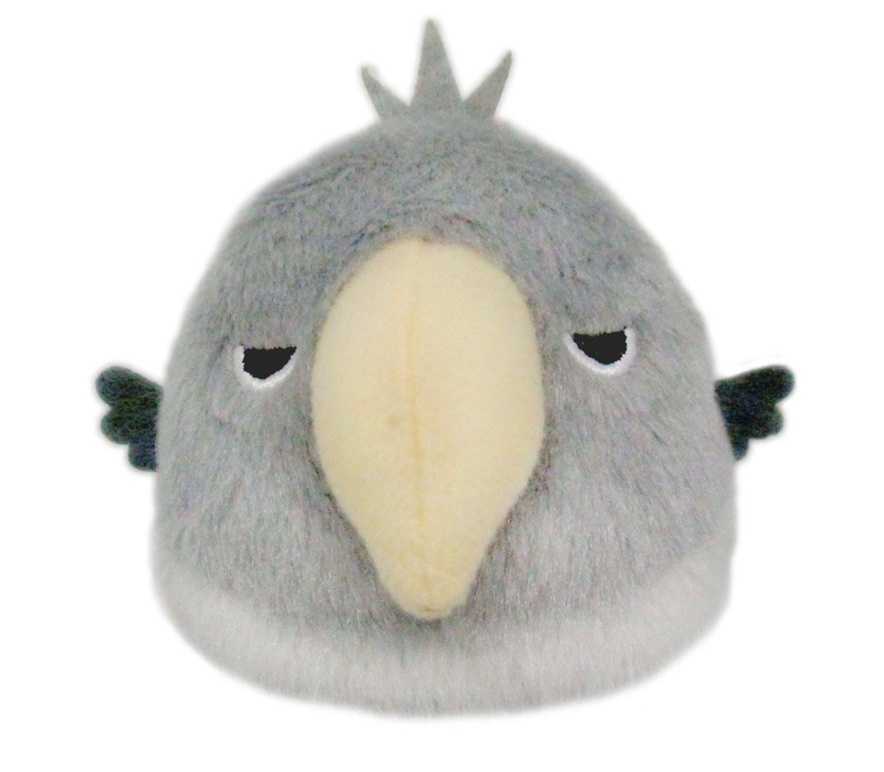 San-ei 092106 Tori-dango Plush Doll Sekisei Inko Shell Parakeet Blue TJN