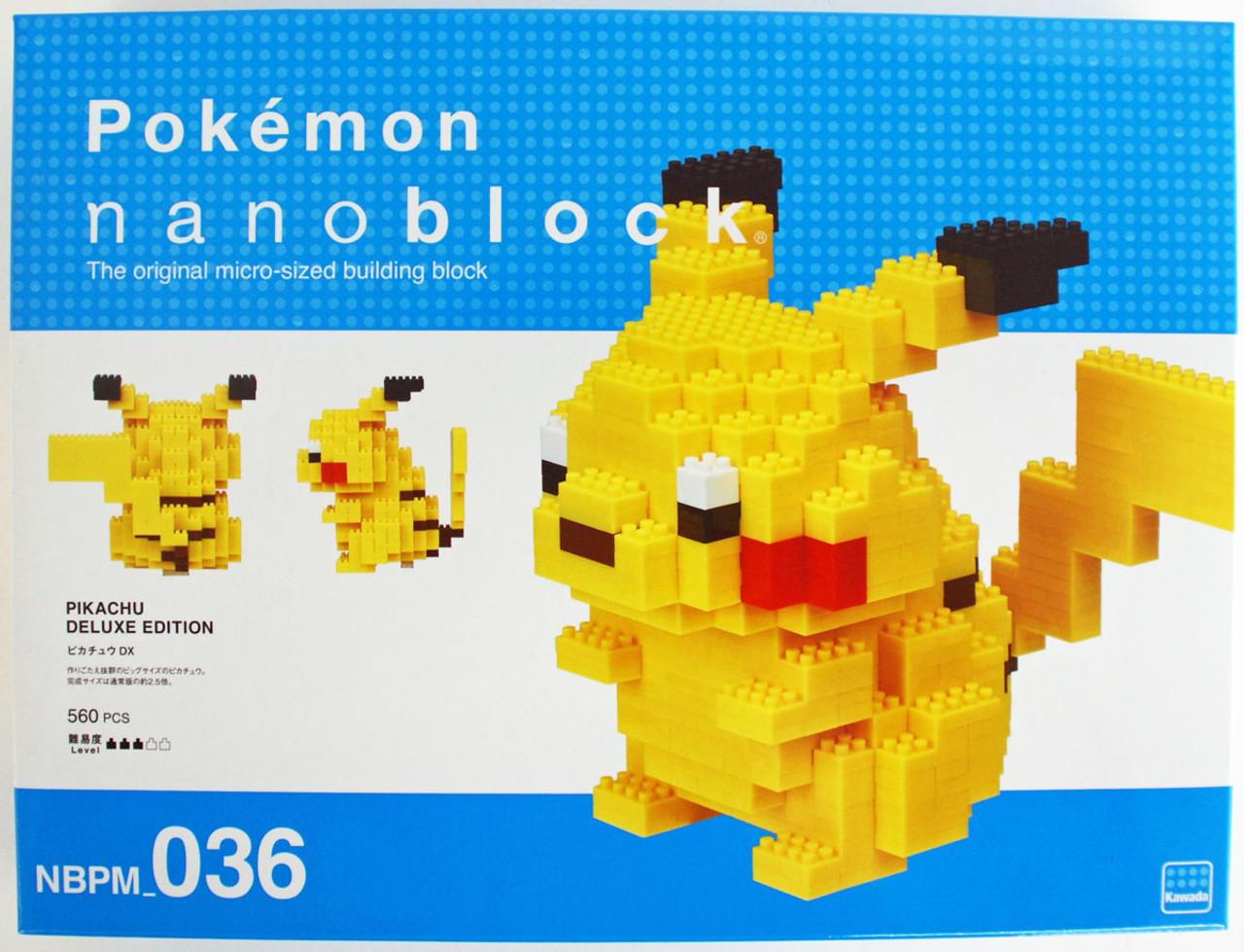 MA Waninoko Model/_kits Kawada NBPM-031 nanoblock Pokemon Totodile