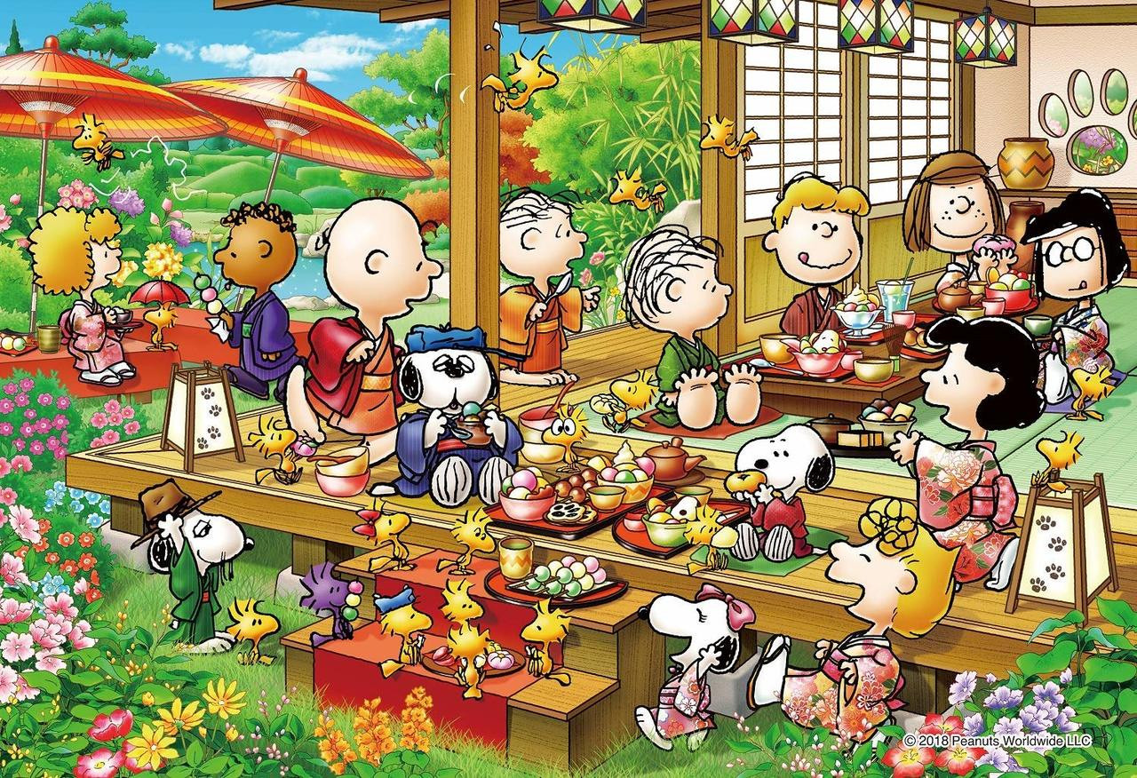 108 Pieces Epoch Jigsaw Puzzle 03-042 Peanuts Snoopy Lantern Party