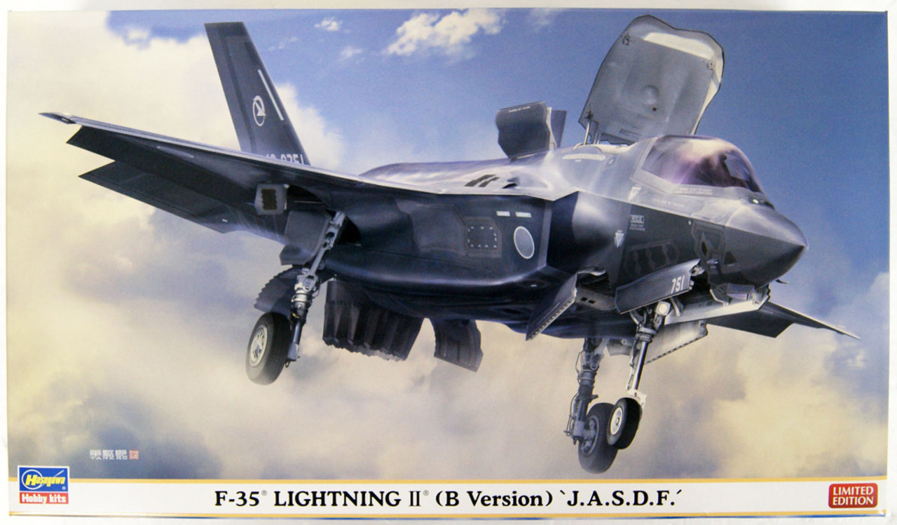 US MARINE Model Kit con tracking versione B Hasegawa E46 1:72 F-35 Lightning II