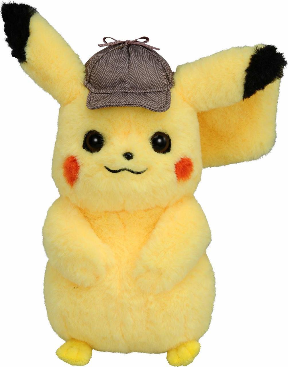 Takara Tomy Plush Doll Pokemon Detective Pikach Plazajapan