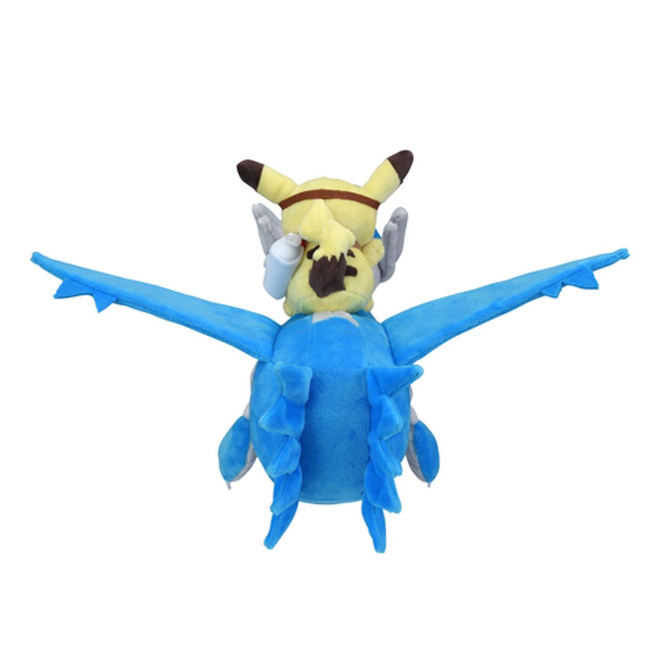 Pokemon Center Original Plush Doll Pikachu Riding on Latios 4521329271354