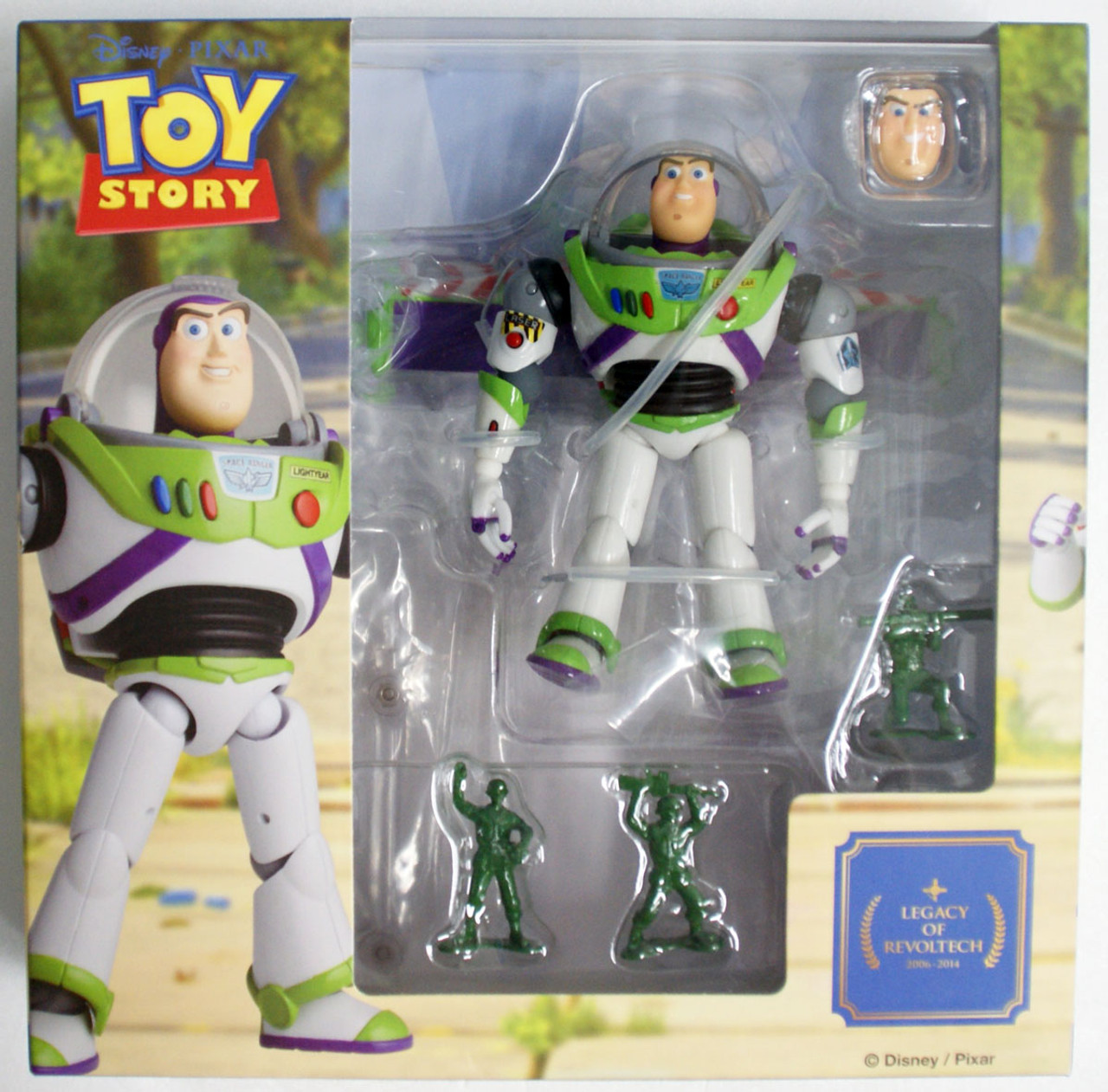 Kaiyodo NEW*** Legacy of Revoltech TOY STORY Buzz Lightyear Renewed Package Ver