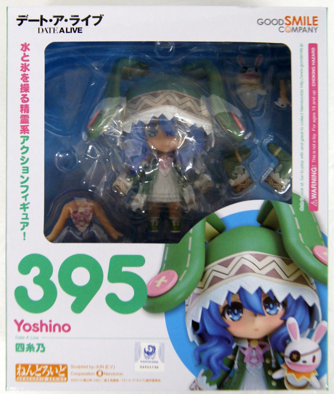 Good Smile Company Nendoroid 395 Date A Live Yoshino Figure Resale NEW