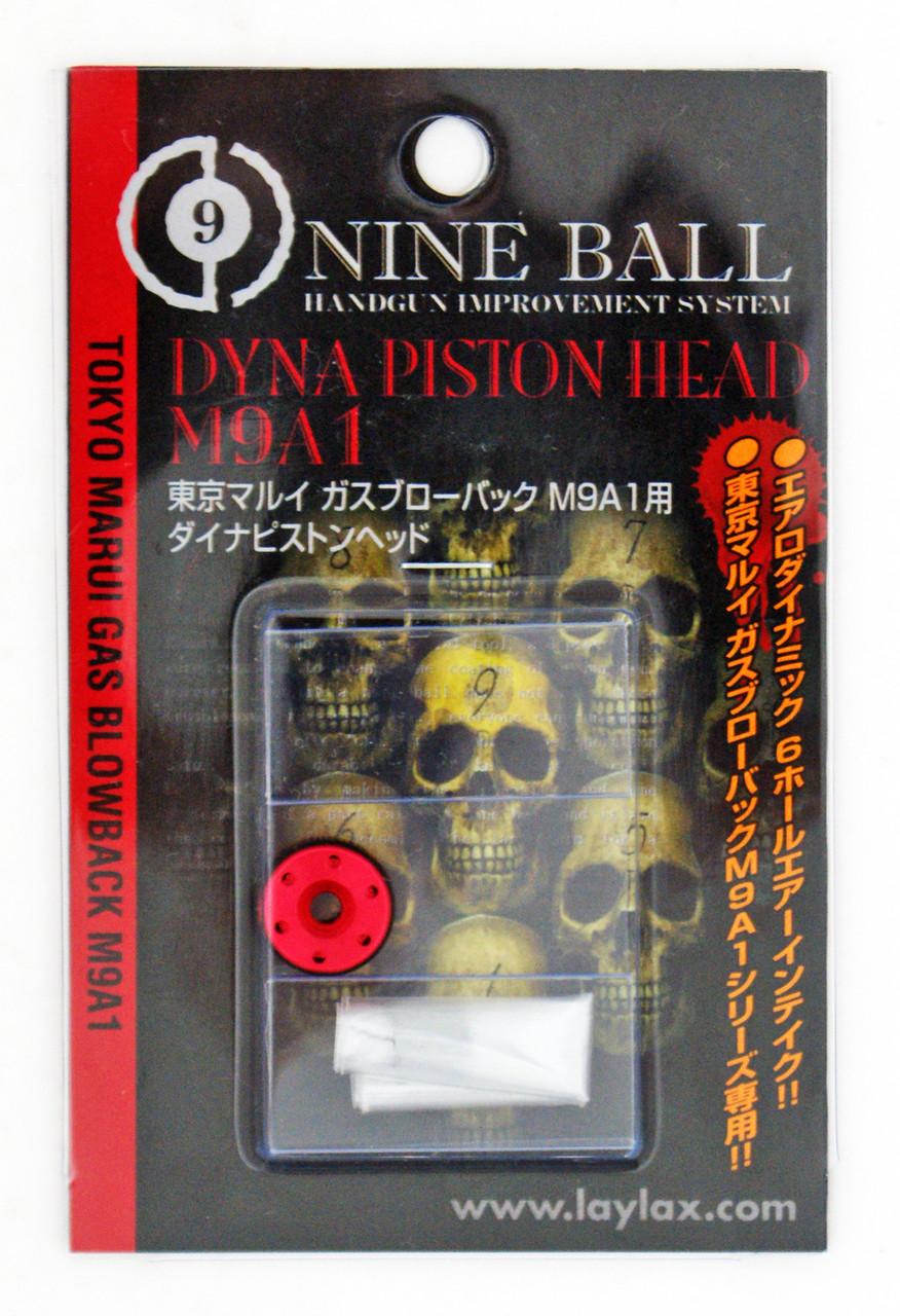 Laylax Nine Ball Dyna Piston Head for Tokyo Marui Gas Blowback Hi-Capa 5.1