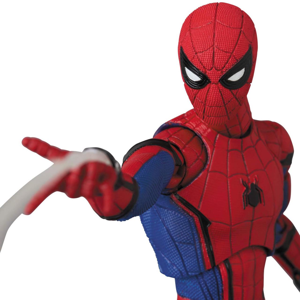 Mafex No Homecoming Ver 1.5 Spiderman Figure Medicom USA 103 Spider-Man