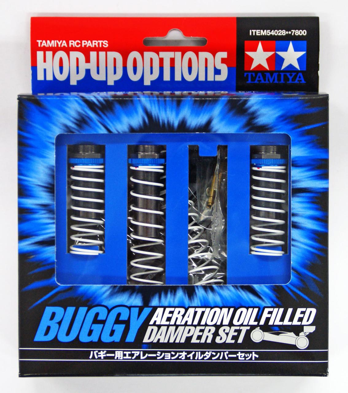 TRF501X//TRF201//DB01//TT02B Tamiya 54028 Buggy Aeration Oil Filled Damper Set