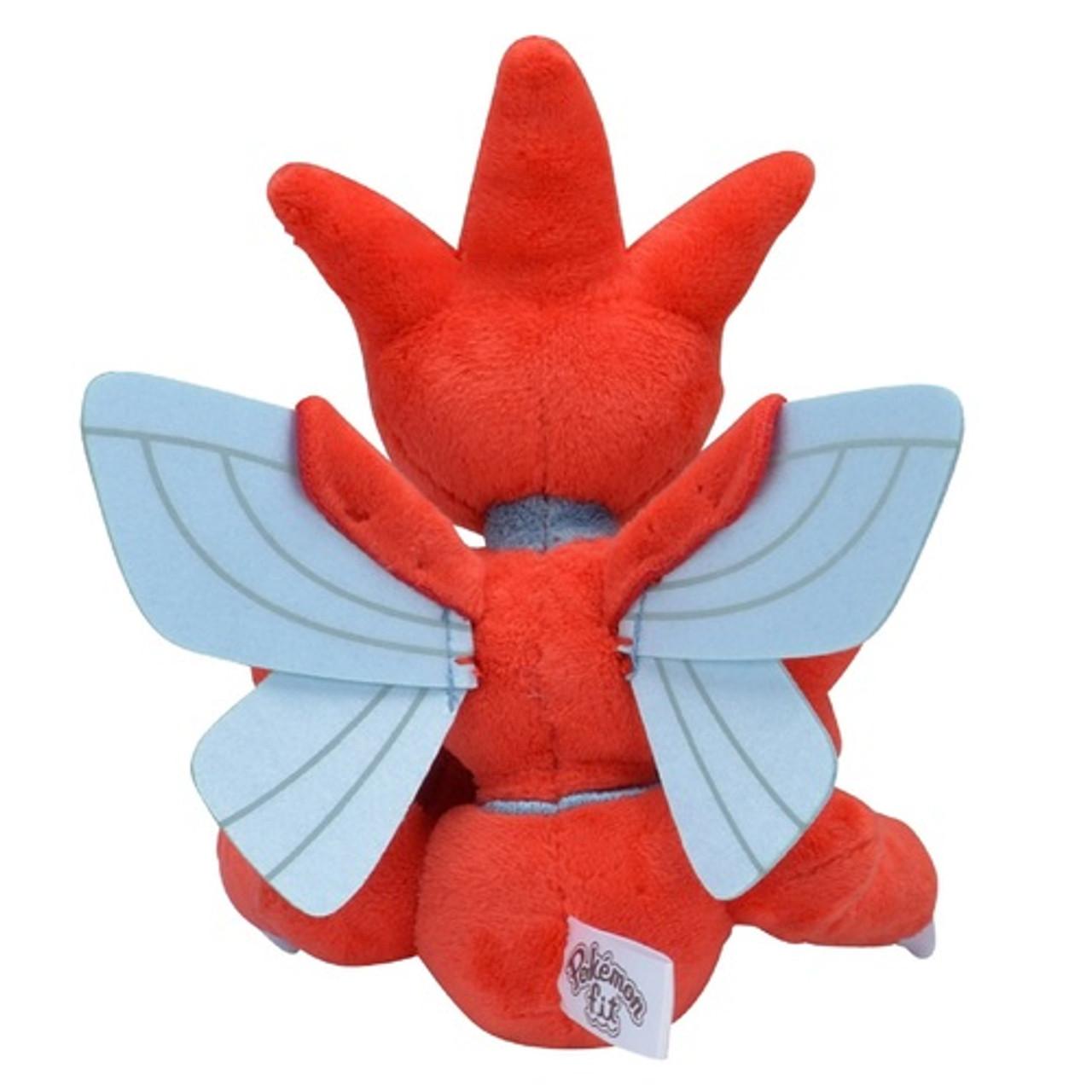 Pokemon Plush doll Pokémon fit Scizor 170x135x85mm Pokemon Center F//S NEW