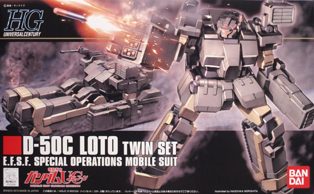 Bandai Hobby 1//144 Bandai HGUC #106 Loto Twin Set