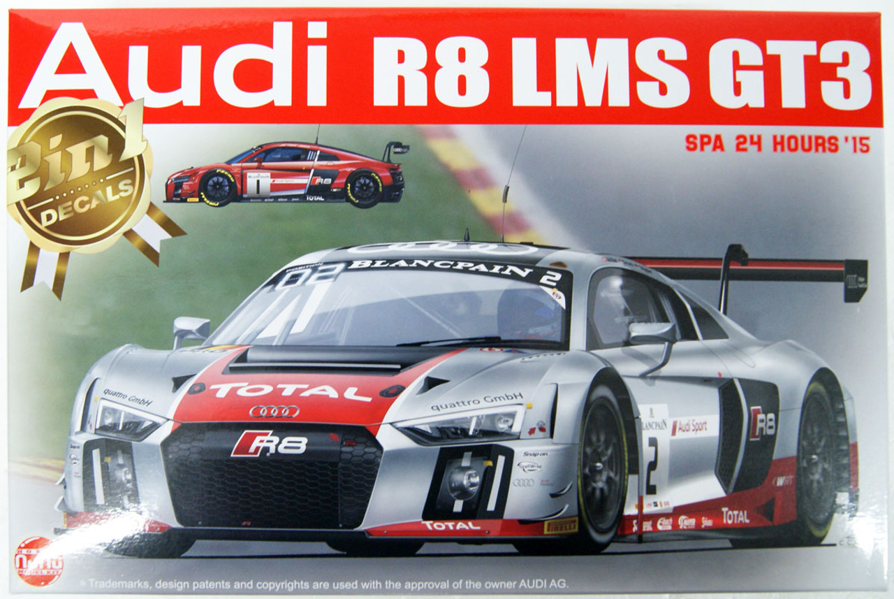 2015 Audi R 8 LMS GT 3 Spa 24 Hours 1:24 NuNu Platz 24004