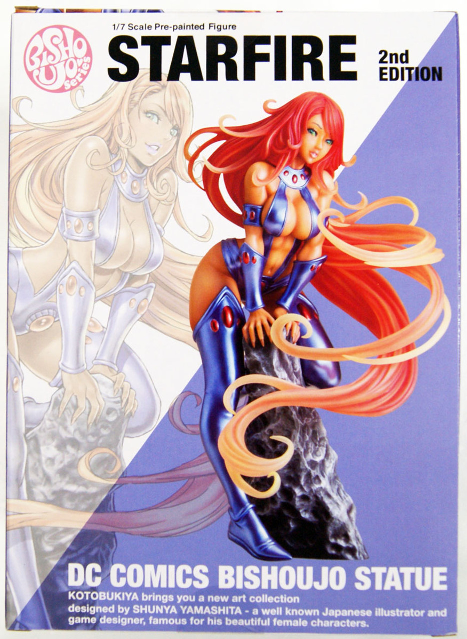 DC COMICS Bishoujo Starfire 2nd Edition 1//7 Kotobukiya Japan New