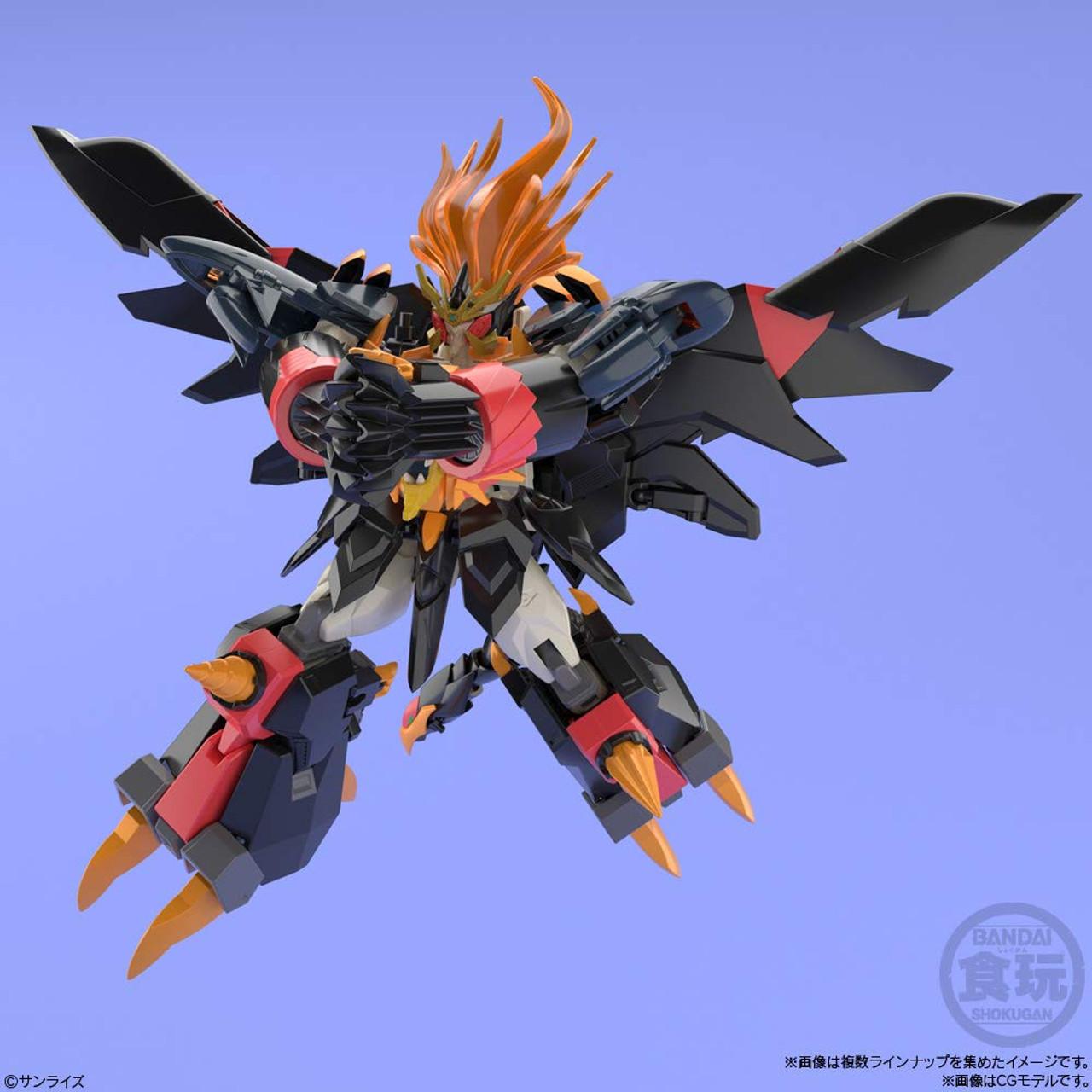 Bandai Super Minipla King of Braves Gaogaigar 4 pcs Full Set Candy Toys