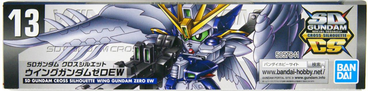Bandai Sd Gundam Cross Silhouette 13 Wing Gunda Plazajapan