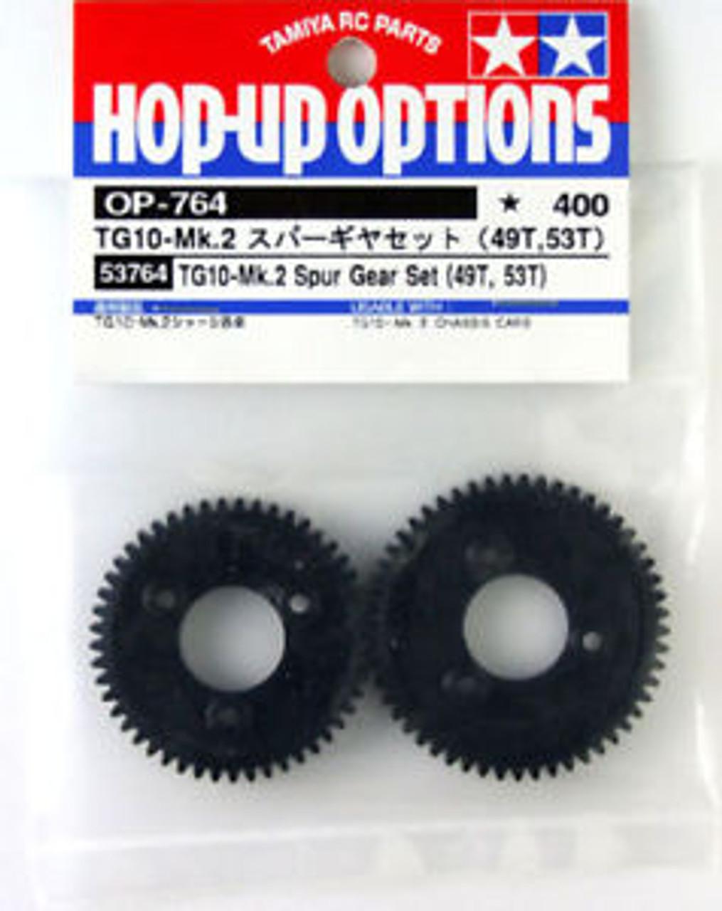 OP764 TG10-Mk.2 Spur Gear Set 49T,53T Tamiya 53764