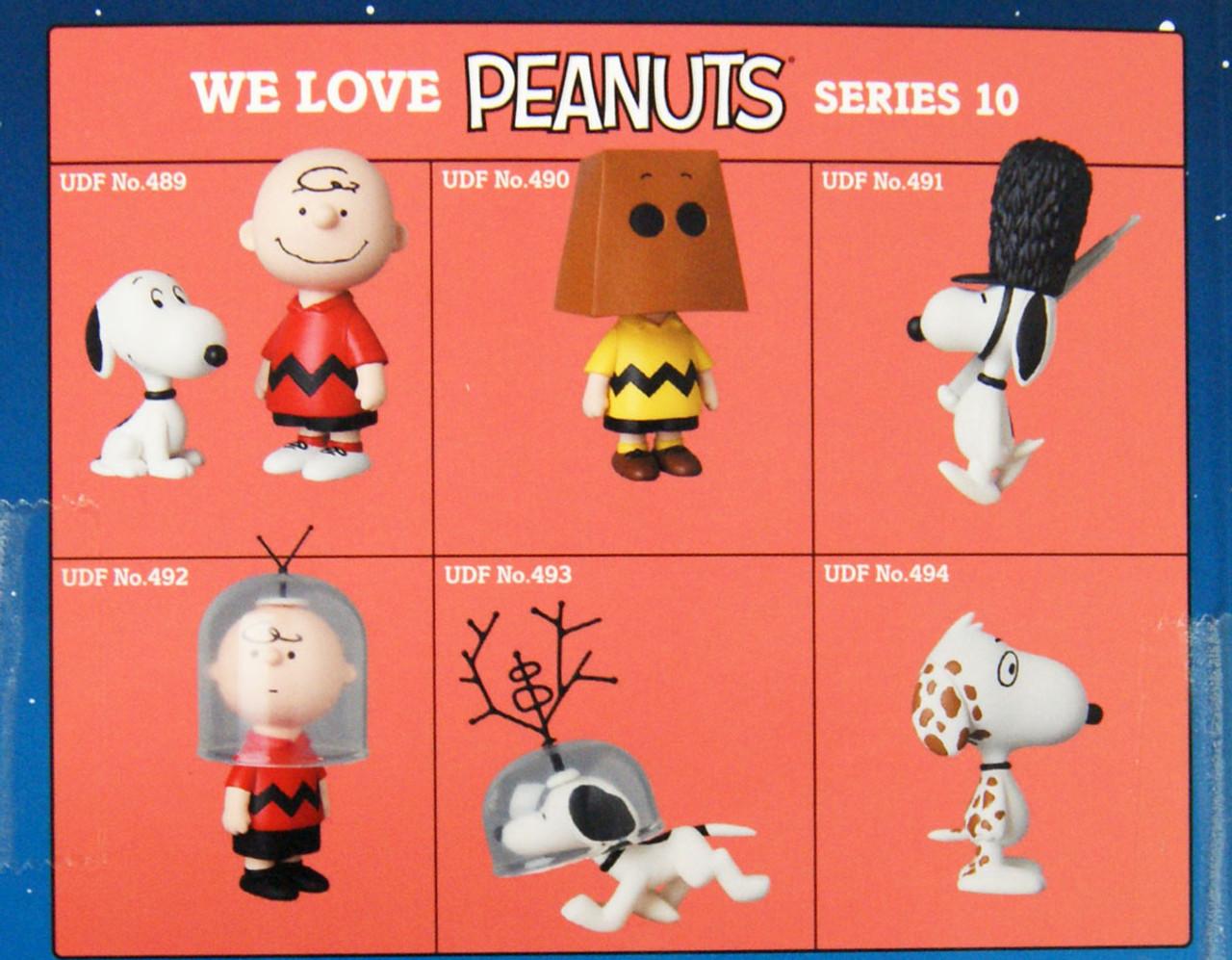Medicom UDF-489 Ultra Detail Figure Peanuts Series 10 Charlie Brown /& Snoopy