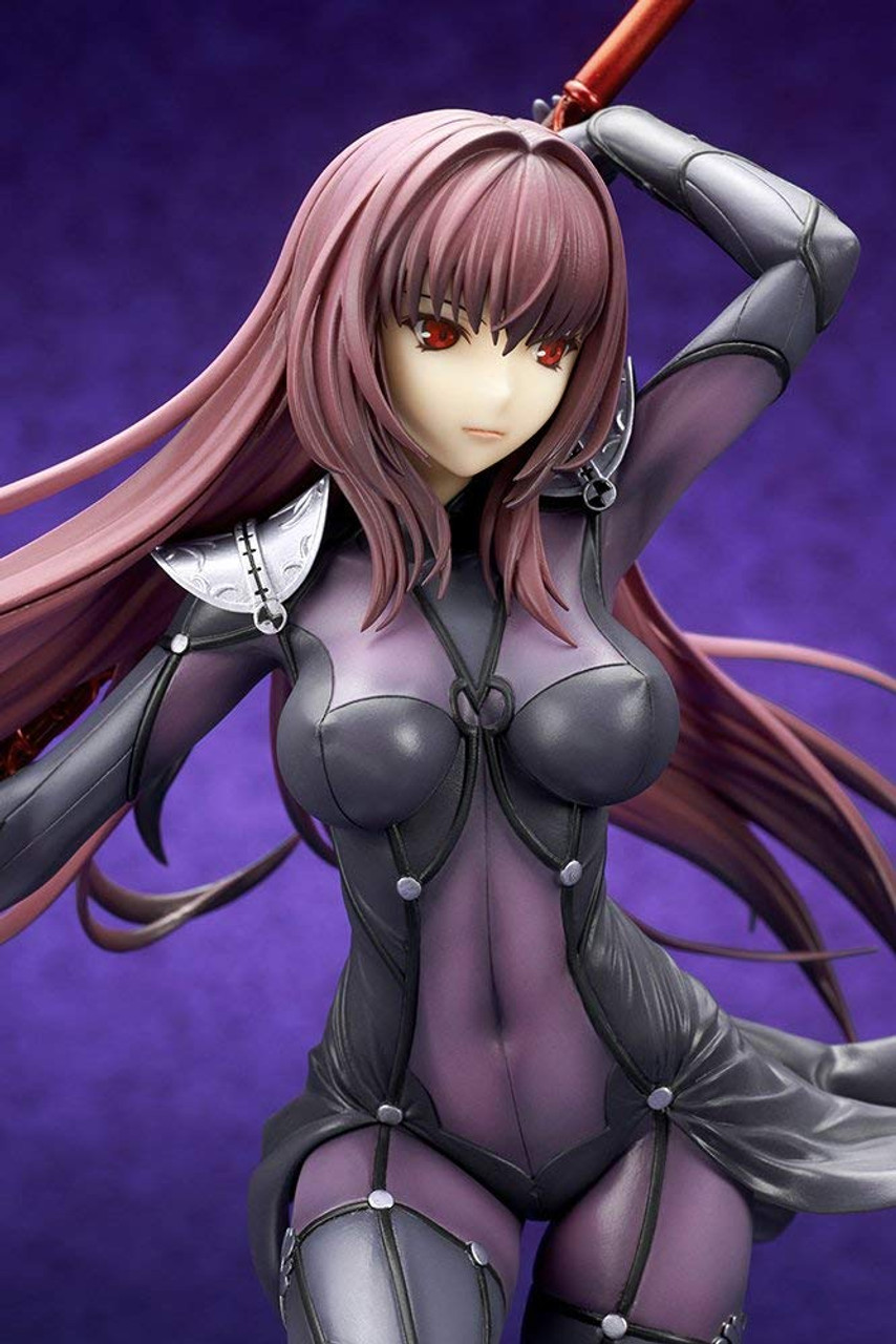 New Lancer Scathach Fate//Grand Order 1//7 Complete Colored Figure f//s from Japan