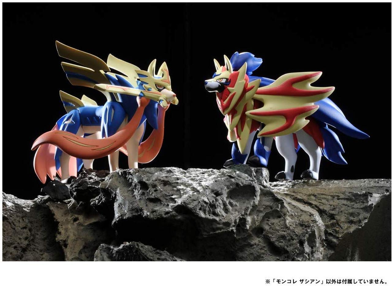 TAKARA TOMY Pokemon Moncolle EX ML-18 ZACIAN Figure Japan import NEW