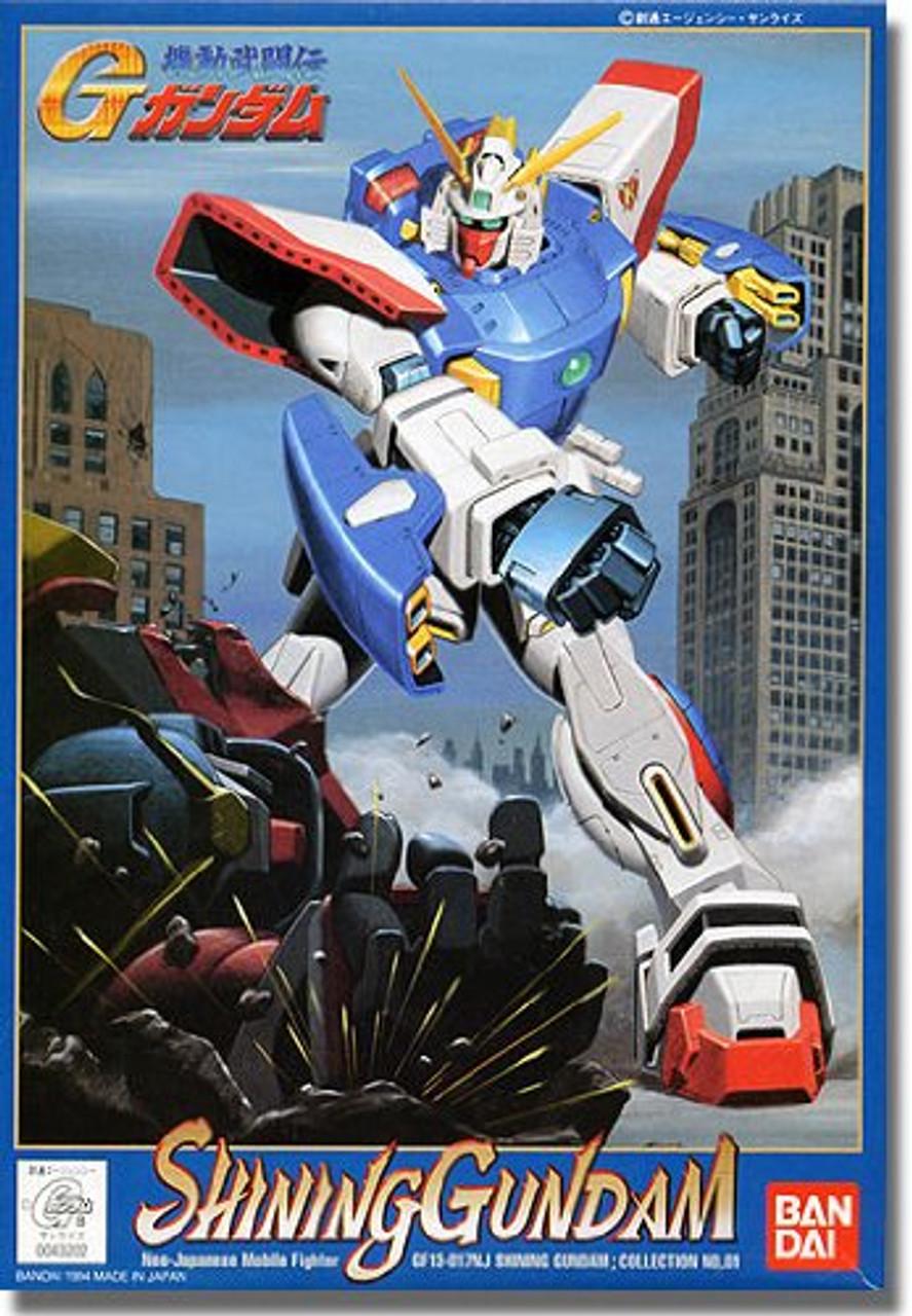 Bandai G Gundam Shining Gundam 1 144 Scale Kit Plazajapan