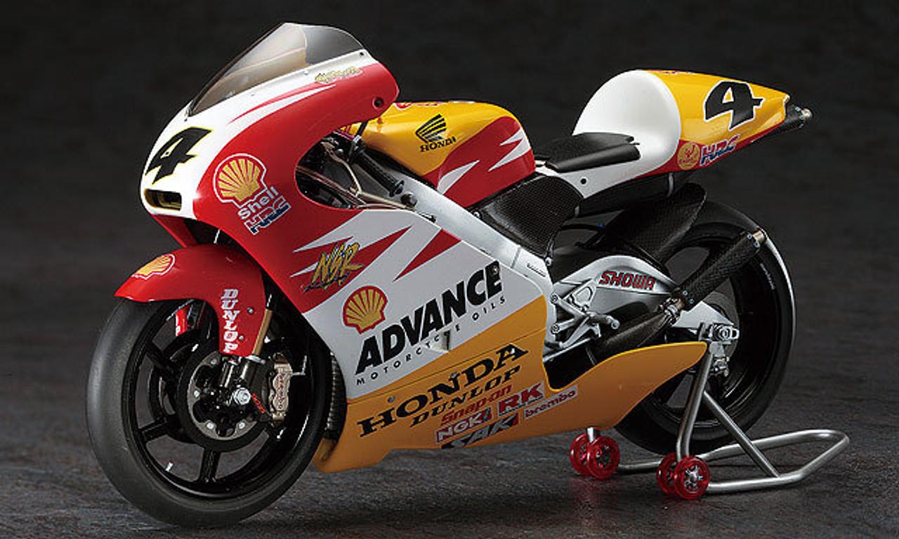 HASEGAWA 1//12 Honda NSR250 Shell Advance 2000 WGP250 #21703 limited model kit