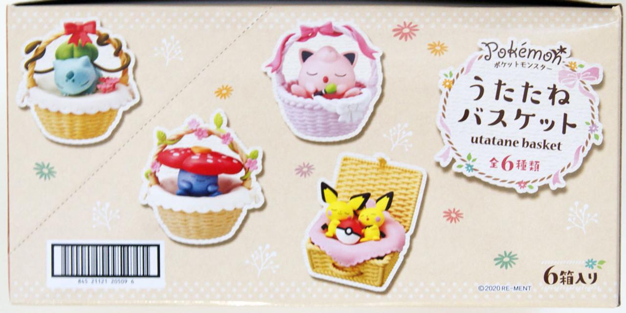 rement Re-ment-Bulbasaur-Pokemon Utatane basket collection