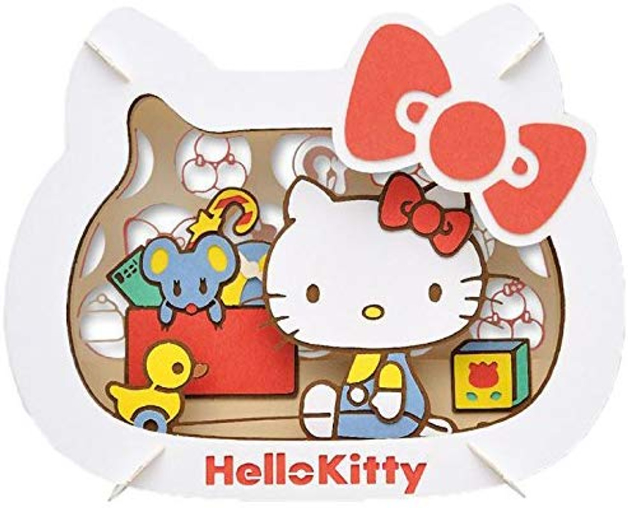 ENSKY Paper Theater Sanrio Little Twin Stars Paper Craft Kit from Japan*