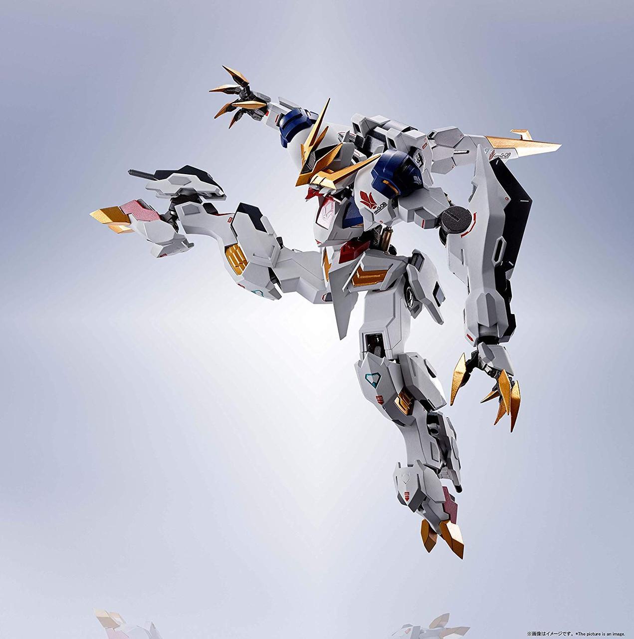BANDAI METAL ROBOT SPIRITS SIDE MS BARBATOS LUPUS REX Action Figure w// Tracking