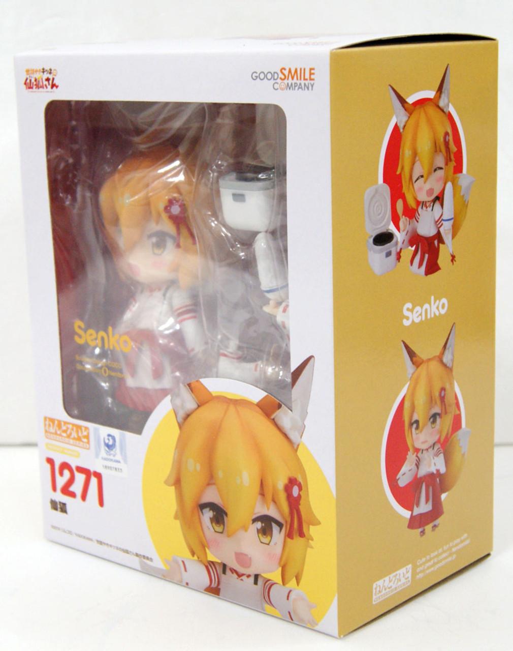 GSC NENDOROID The Helpful Fox Senko-San 1271 Senko Action Figure in stock