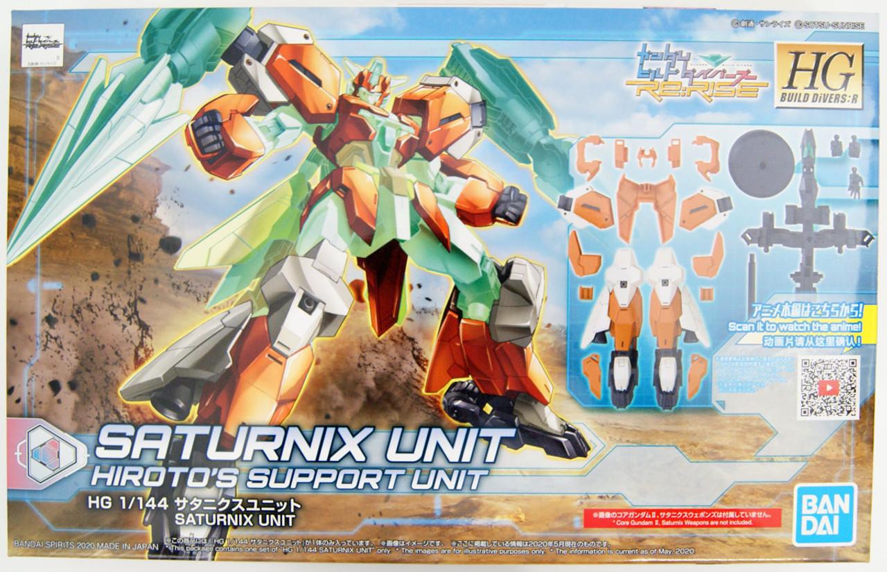 Gundam Build Divers Re:Rise #32 Protagonists Units New Weapons 2,Bandai Spirits HGBD 1//144