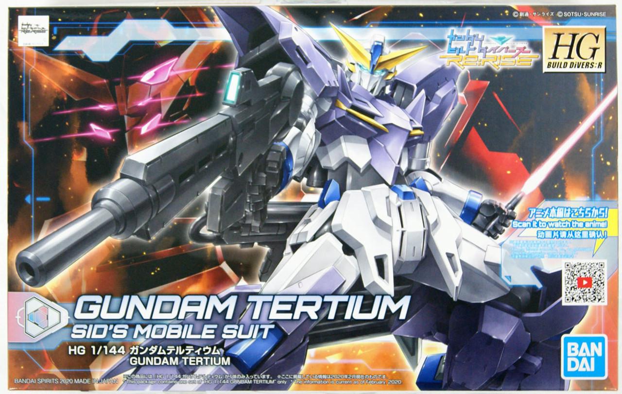 HG BF Gundam Build Divers RE:Rise 016 Gundam Tertium 1//144 model kit Bandai