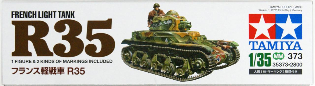 1//35 French Renault R35 light tank Tamiya 35373
