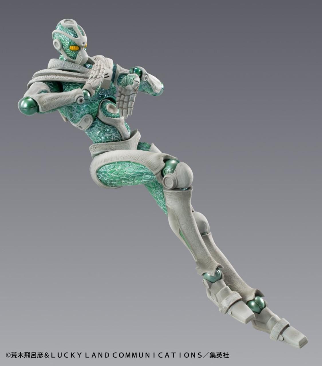 Medicos Super Action Statue Hierophant Green Figure JoJo/'s Bizarre Adventure