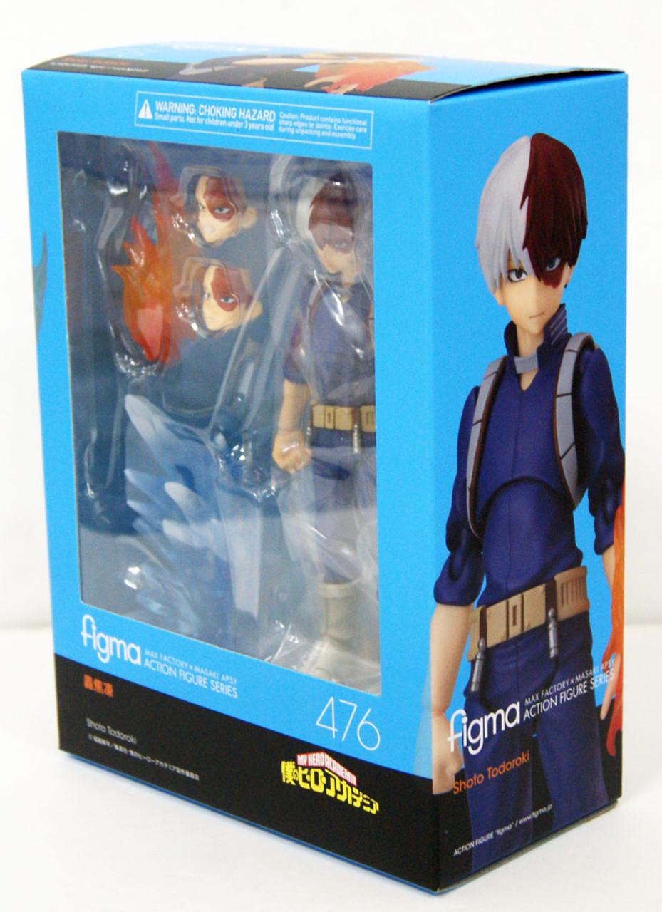 Figma My Hero Academia Shoto Todoroki #476 Good Smile Company NYC Seller