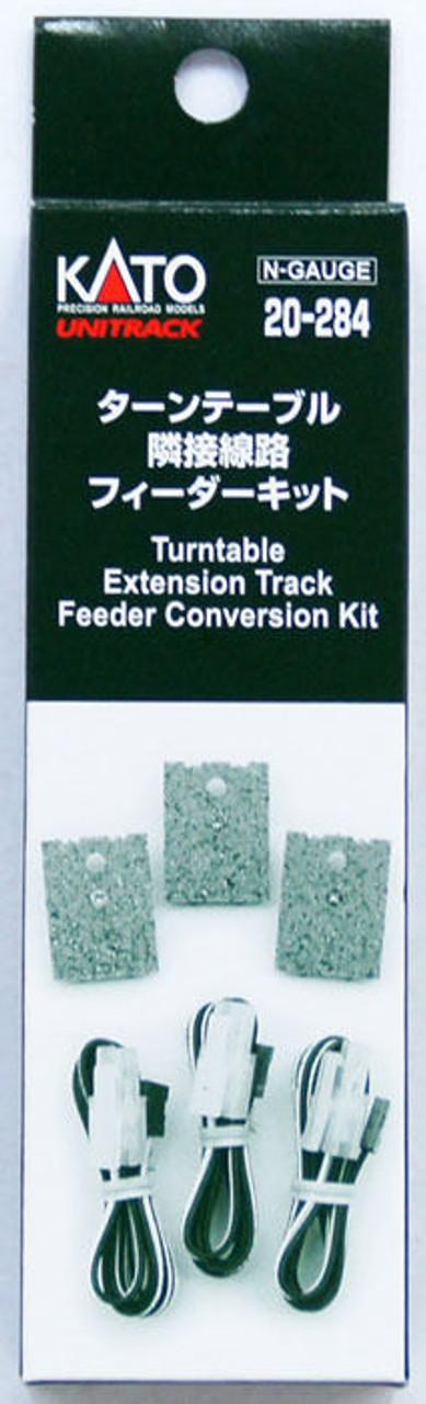 KATO 20-284 N Gauge Electric Turntable Extension Track Feeder Kit