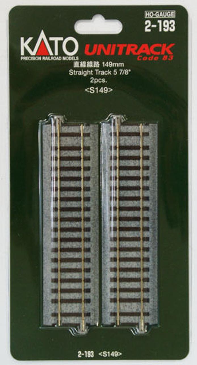Kato 2-143 123mm 4 7//8 Uncoupler Track S123U 2 pieces HO scale