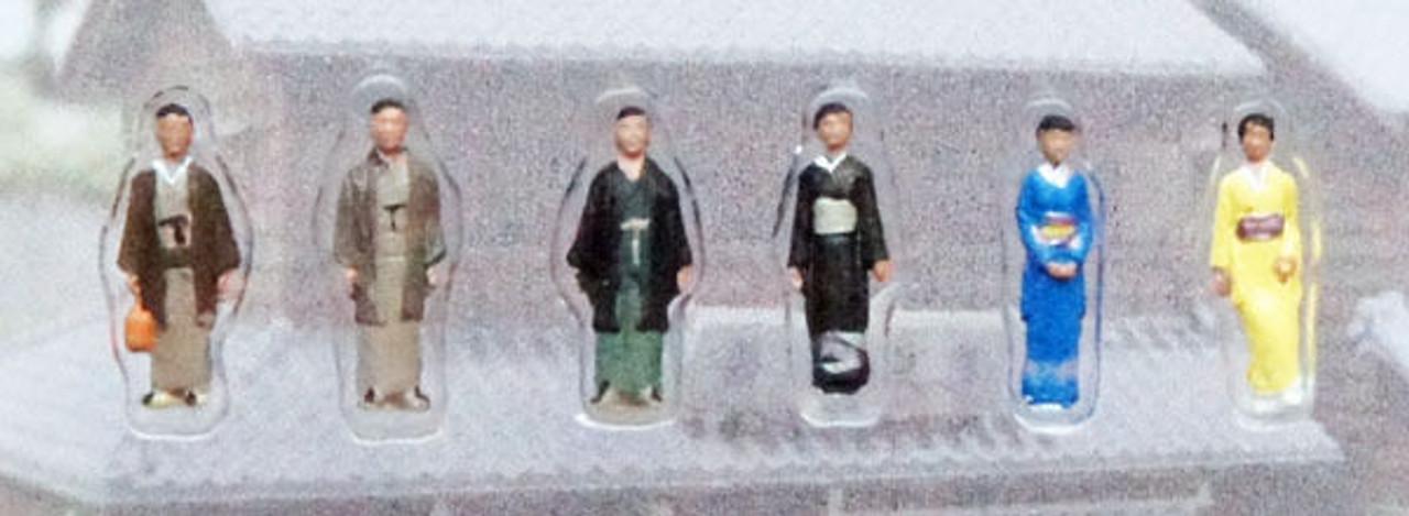 "N scale /"" Japanese Dress Kato 24-234 Model People /""People in Kimono 1"